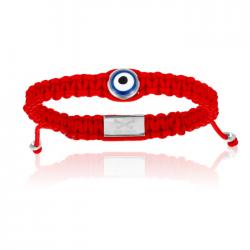 Double Bone Single Eye Bracelet
