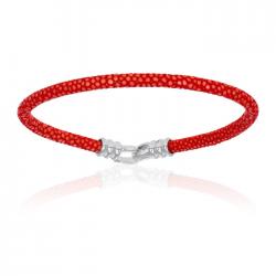 Double Bone Single Stingray Bracelet