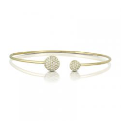 Doves Couture Diamond Bangle