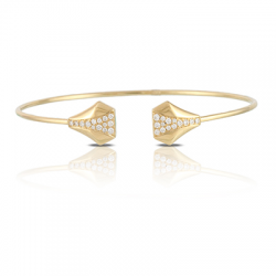 Doves Couture Diamond Bangle