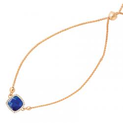 Doves Royal Lapis Bracelet