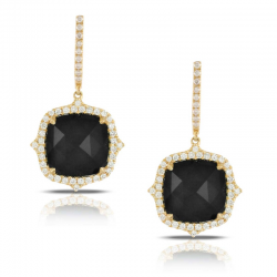 Doves Gatsby Black Onyx Earring