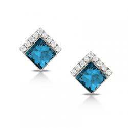 Doves London Blue Earring