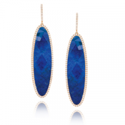 Doves Royal Lapis Earring