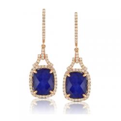 Doves Royal Lapis Earring