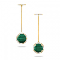 Doves Verde Earring