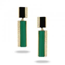Doves Verde Earring