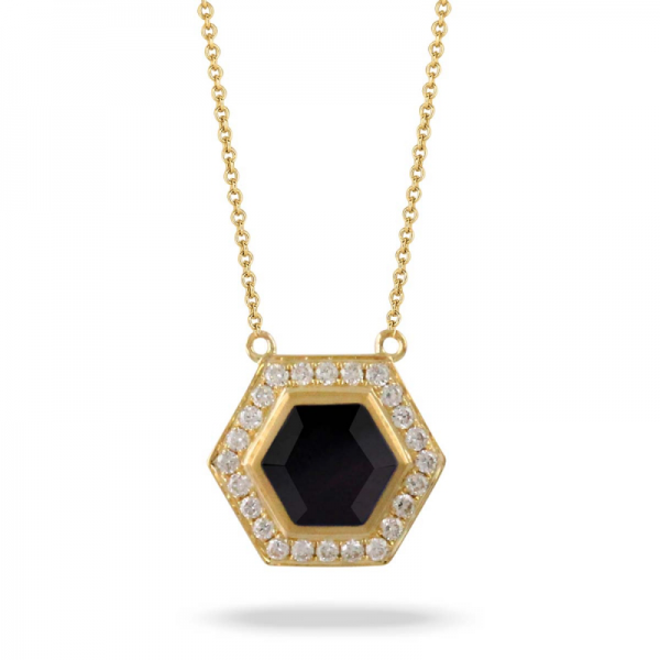 bbd9137e82446 Doves Gatsby Black Onyx Necklace