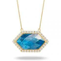 Doves Laguna Blue Necklace
