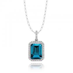 Doves London Blue Necklace
