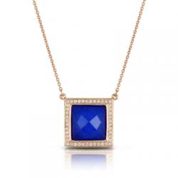 Doves Royal Lapis Necklace