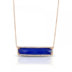 Doves Royal Lapis Necklace