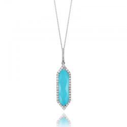 Doves St. Barths Blue Necklace