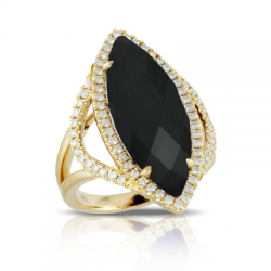 Doves Gatsby Black Onyx Ring