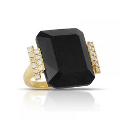 Doves Gatsby Black Onyx Ring