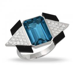 Doves London Blue Ring