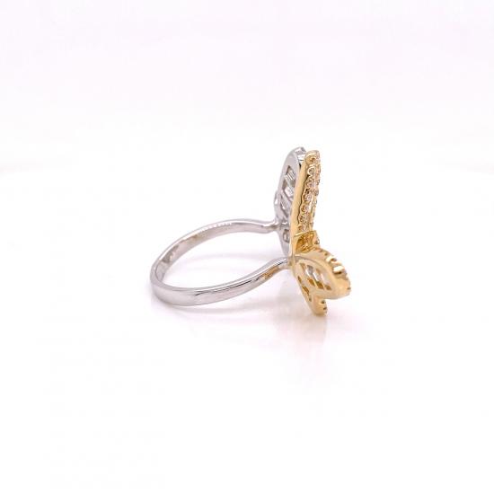 BUTTERFLY DIAMOND RING