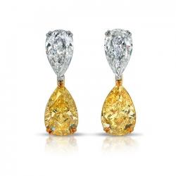 Platinum Diamond Earring