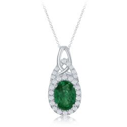 Emerald And Pendant Pendant