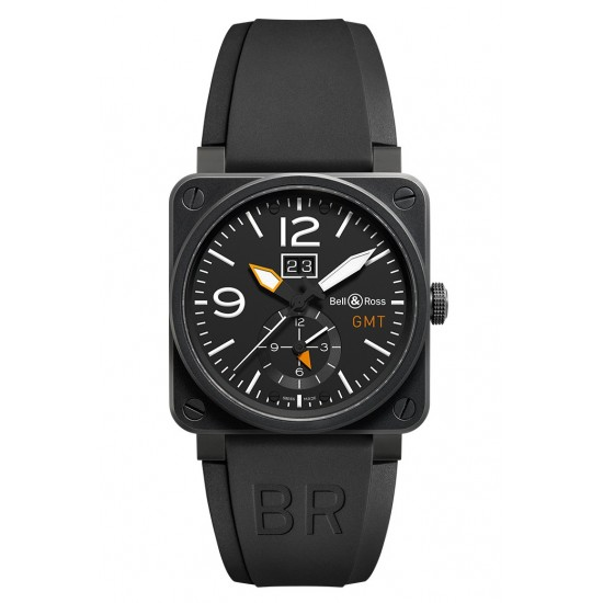 Bell and Ross BR 03-51 GMT CARBON