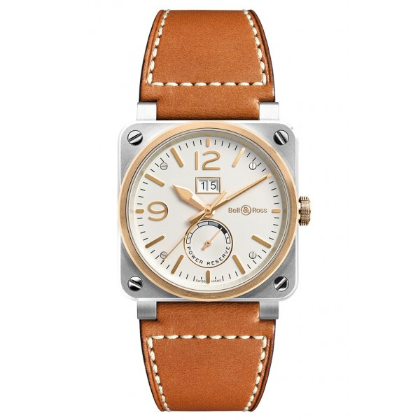 Bell and Ross BR 03-90 STEEL & ROSE GOLD