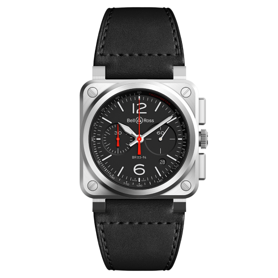 Bell and Ross BR 03-94 Black Steel