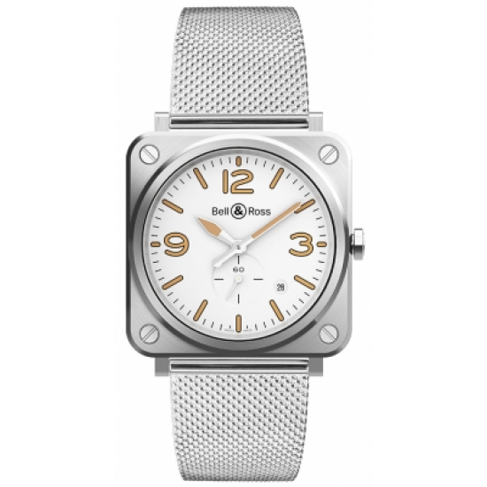 Bell and Ross  BRS-WHERI-ST/SST Steel Heritage W