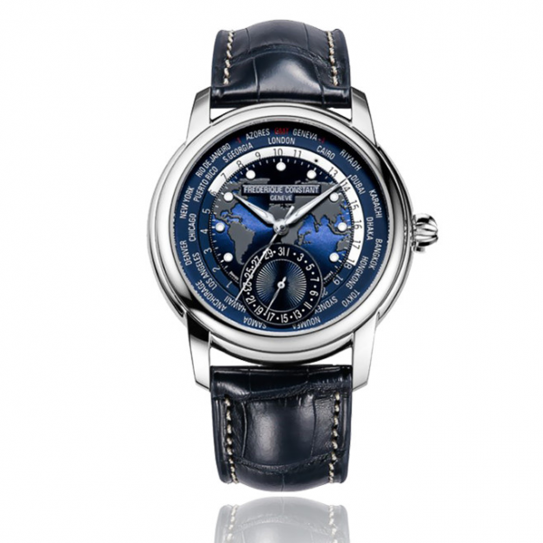 Frederique Constant Worldtimer Automatic Watch