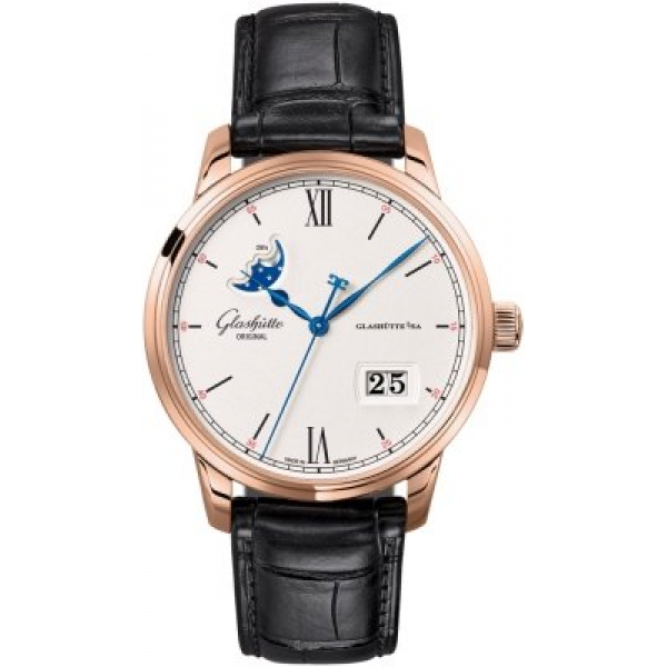 Glashutte Original Senator Excellence Panorama Date Moonphase