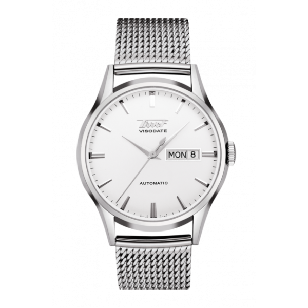 Tissot Heritage Visodate Automatic Silver Dial Watch