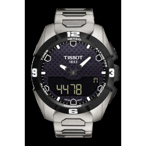 Tissot T-Touch Expert Solar Black Dial Watch