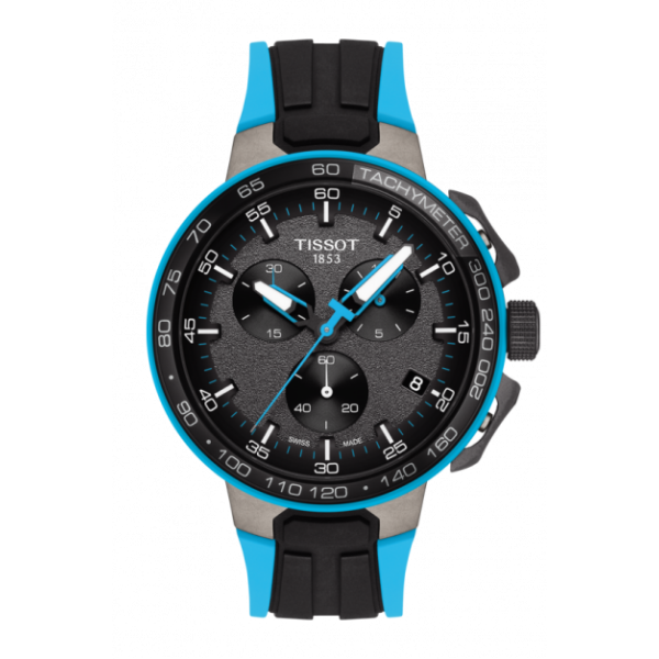 Tissot T-Race Cycling Chronograph Black Dial Watch